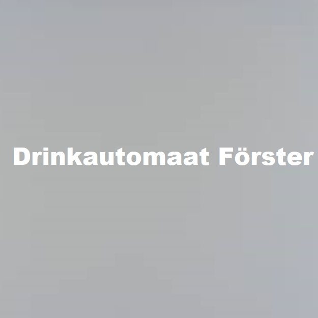 drinkautomaat forster